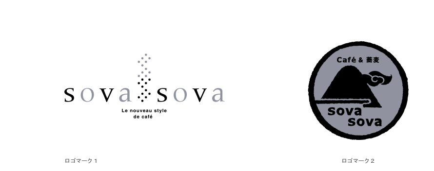 SOVASOVA ネーミング・ロゴ