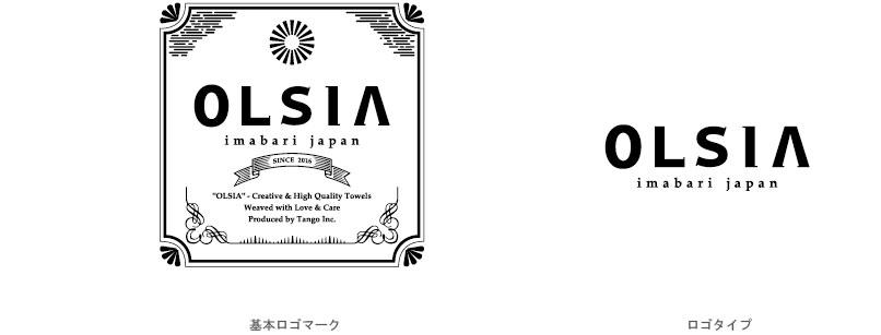 「OLSIA」ロゴデザイン