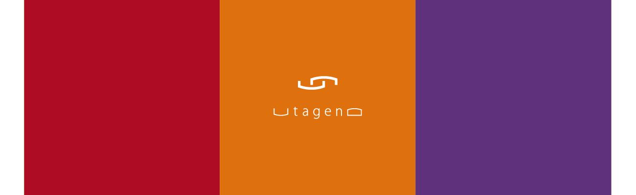 「UTAGENO」ブランディングのしごとイメージ